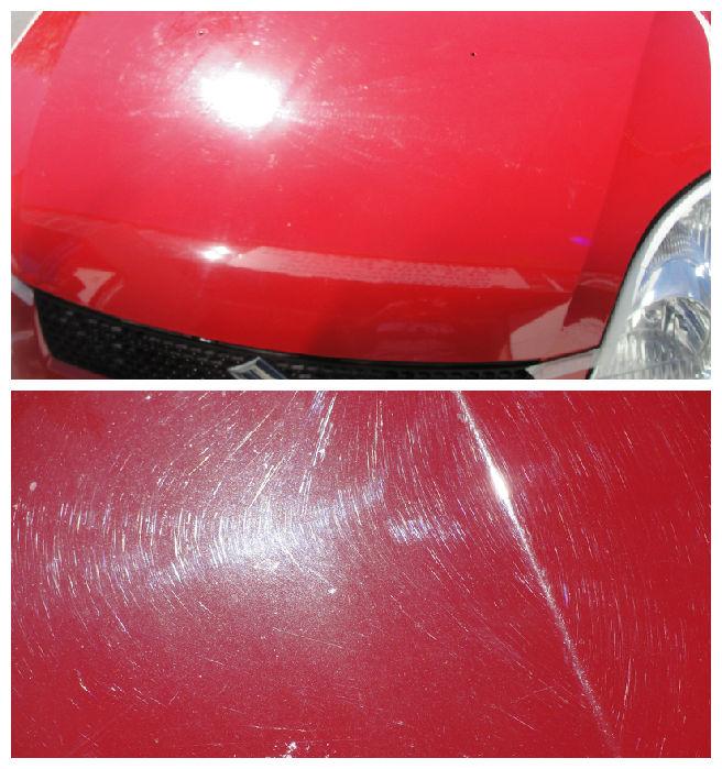 Чем убрать мелкие царапины на машине своими руками